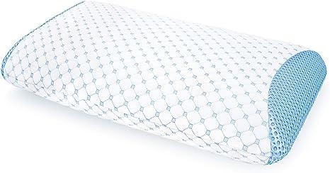 """Sensorpedic SensorGel Cool Gel Infused Memory Foam Contour Pillow 21/"""" x 14/"""" W205"""