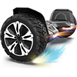 Gyroor Hoverboard Warrior 8.5 inch All Terrain Off Road Hoverboard with Music Speakers and LED Lights,UL2272 Certified…