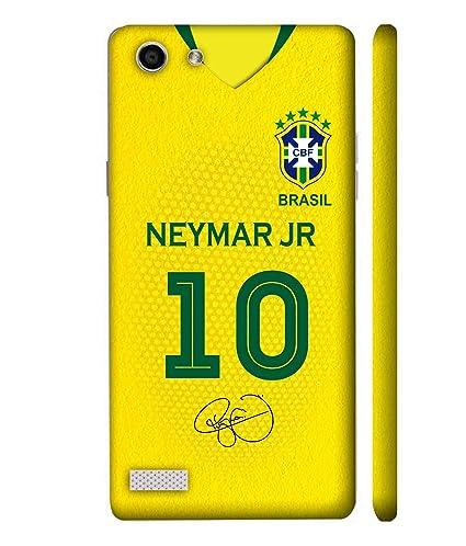Print Vale Brazil Home Neymar Jr Jersey 10 FIFA World