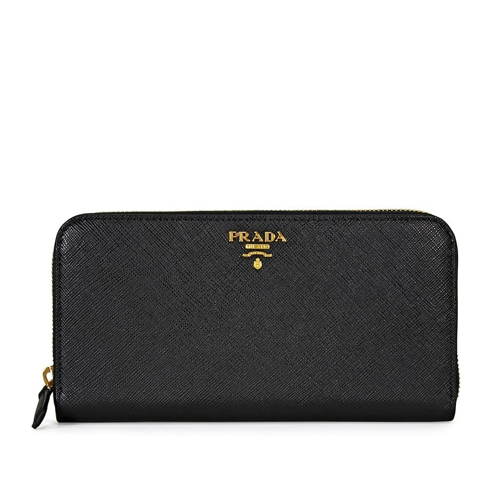 Prada Women s Saffiano Leather Black at Amazon Women s Clothing store  d8b0f23bf