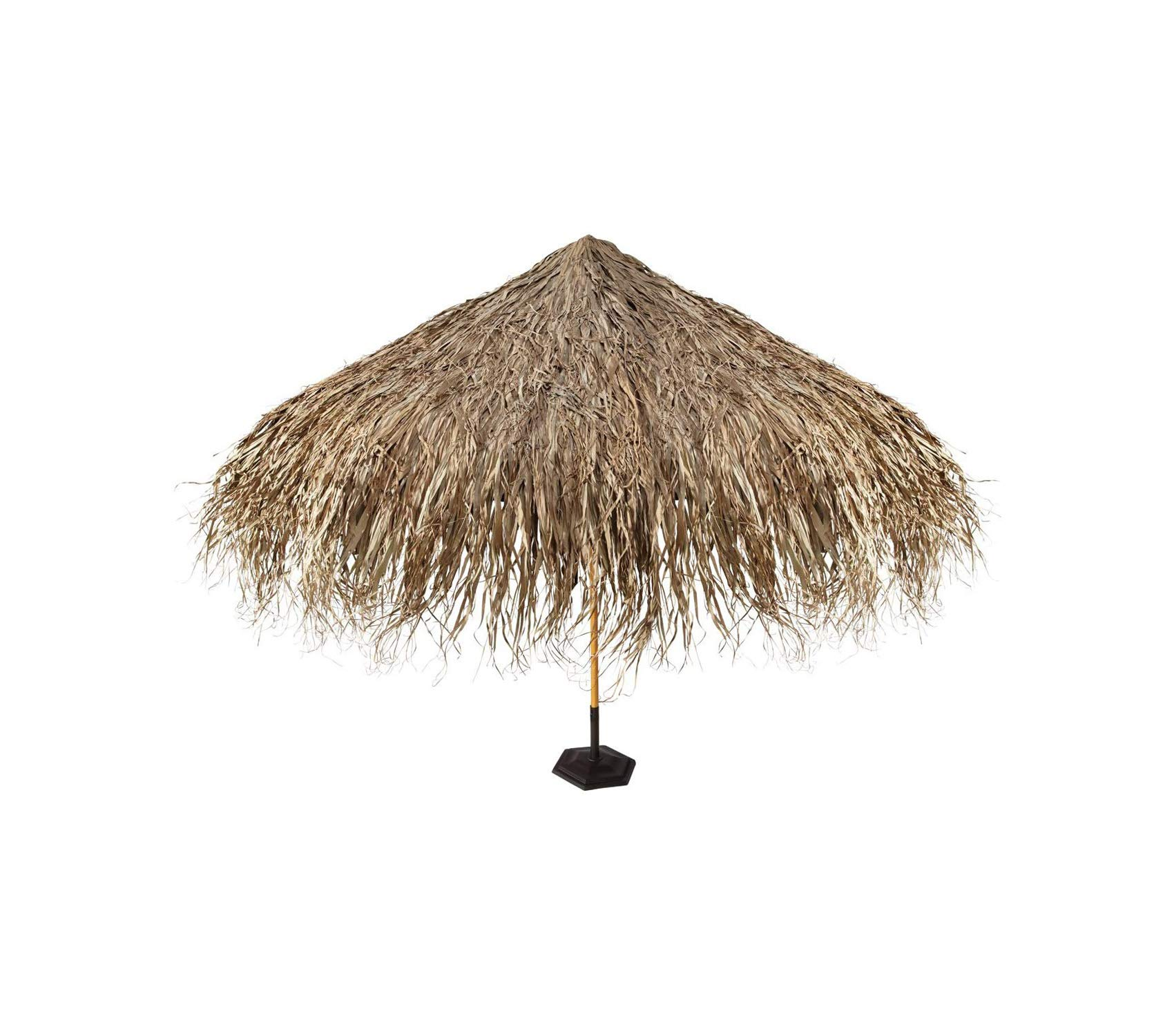 Dеsign Tоscаnо Patio Outdoor Garden Premium Tropical Thatch Umbrella Cover