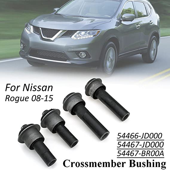 New Front Body Subframe Crossmember Bushing for Nissan Rogue 54466JD000