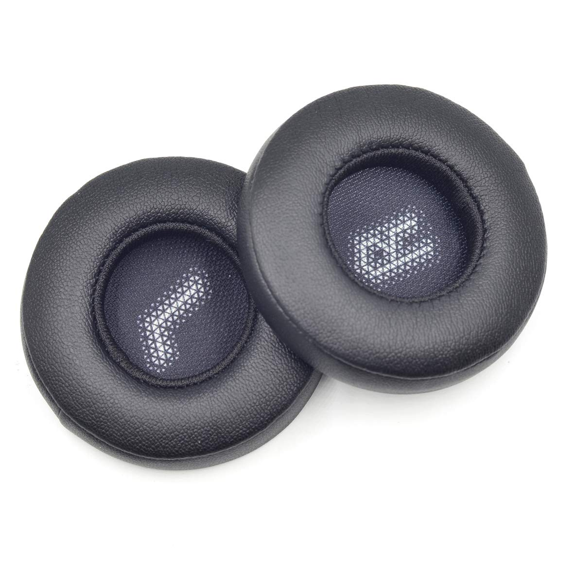 交換用低反発素材イヤーパッド クッション パーツカバー JBL E35 E45bt E 45 Bluetoothワイヤレスヘッドホン用 ブラック E45  ブラック B07H4LK6RP