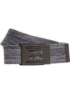 Quiksilver Principle Cinturón, Hombre, Negro (Black KVJ0), (Tamaño del Fabricante:1SZ)