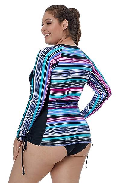 2657c307eb Eozy Maillot de Bain Femme Slim pour Taille Grand Maillot de Haute Qualité:  Amazon.fr: Vêtements et accessoires