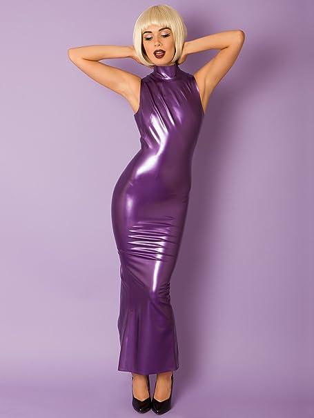 Latex Hobble Dress