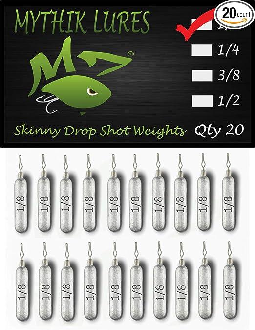 50x Drop-shot Rig Sinkers Lead Fishing Weights Jig Head Rolling Swivel 7g