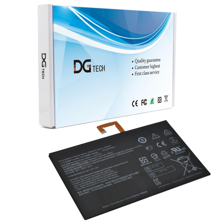 DGTECH L14D2P31 Laptop Battery Compatible Lenovo Tab 2 A10-70F A10-70 2 A10-70F A10-70L TB2-X30 TB2-X30M (3.8V 7000mAh/26.60Wh)