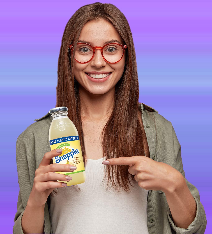 Snapple - Go Bananas - 16 fl oz (24 Plastic Bottles) by Snapple (Image #3)