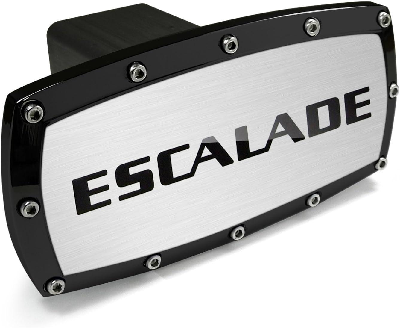 Cadillac Escalade Black Trim Billet Aluminum Tow Hitch Cover