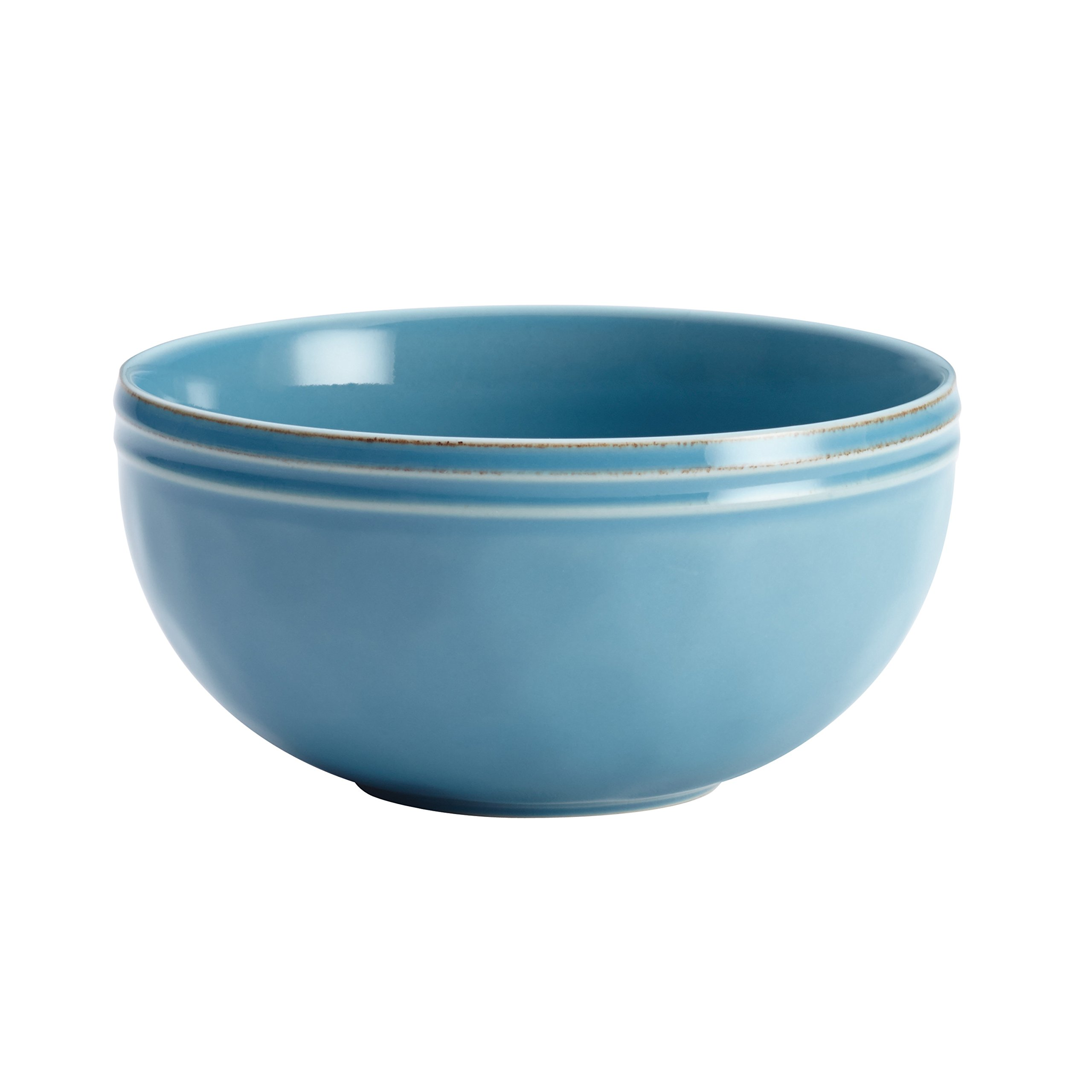 Rachael Ray Cucina Dinnerware 16-Piece Stoneware Dinnerware Set, Agave Blue by Rachael Ray (Image #9)