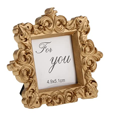 Homyl Wedding Banquet Antique Gold Picture Photo Frame Party Table ...