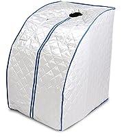 Guellin Sauna de Infrarrojos 1000W Sauna Iinfrarroja Portable