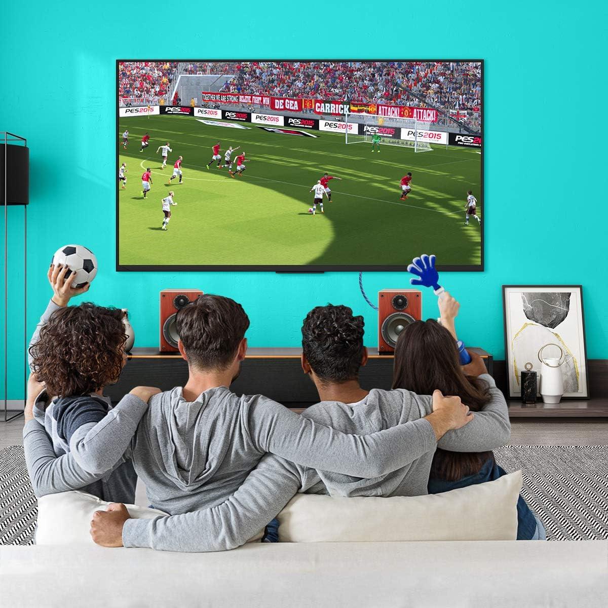 pour Lecteur Blu-Ray Cordon Toslink Barre de Son C/âble Audio Optique orientable /à 90 degr/és avec Angle Droit PS3//PS4 HDTV Xbox et Plus Encore 1,5 m Noir Cordon Optique Rotatif