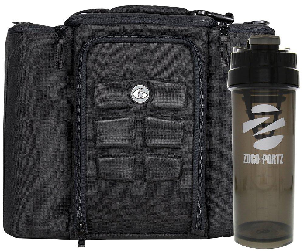 6 Pack Fitness Innovator 500 Stealth Black w/Bonus Zogosportz Cyclone Shaker