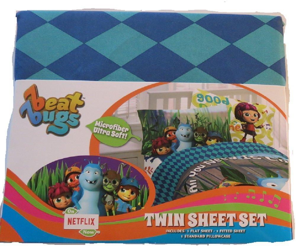 Franco Beat Bugs Twin Sheet Set