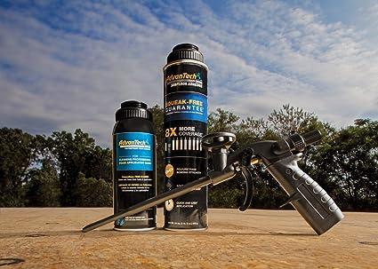 AdvanTech Subfloor Adhesive Dispensing Gun Cleaner   Polyurethane Cleaner   J.M. Huber   Includes (6) 12 oz. cans - - Amazon.com