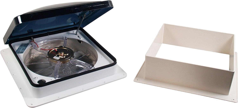 Off White Fan-Tastic Vent 801251 1250 Series Vent