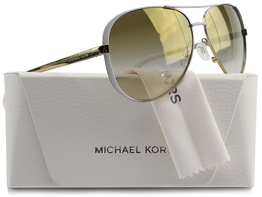 24781e4f31 MK5004 Chelsea Aviator Sunglasses Gold w Gold Mirror Gradient (1016 6E) MK