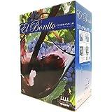 【Amazon.co.jp限定】エル ボニート テンプラニーリョ バッグインボックス 3000ml(テンプラニーリョ種 100%)