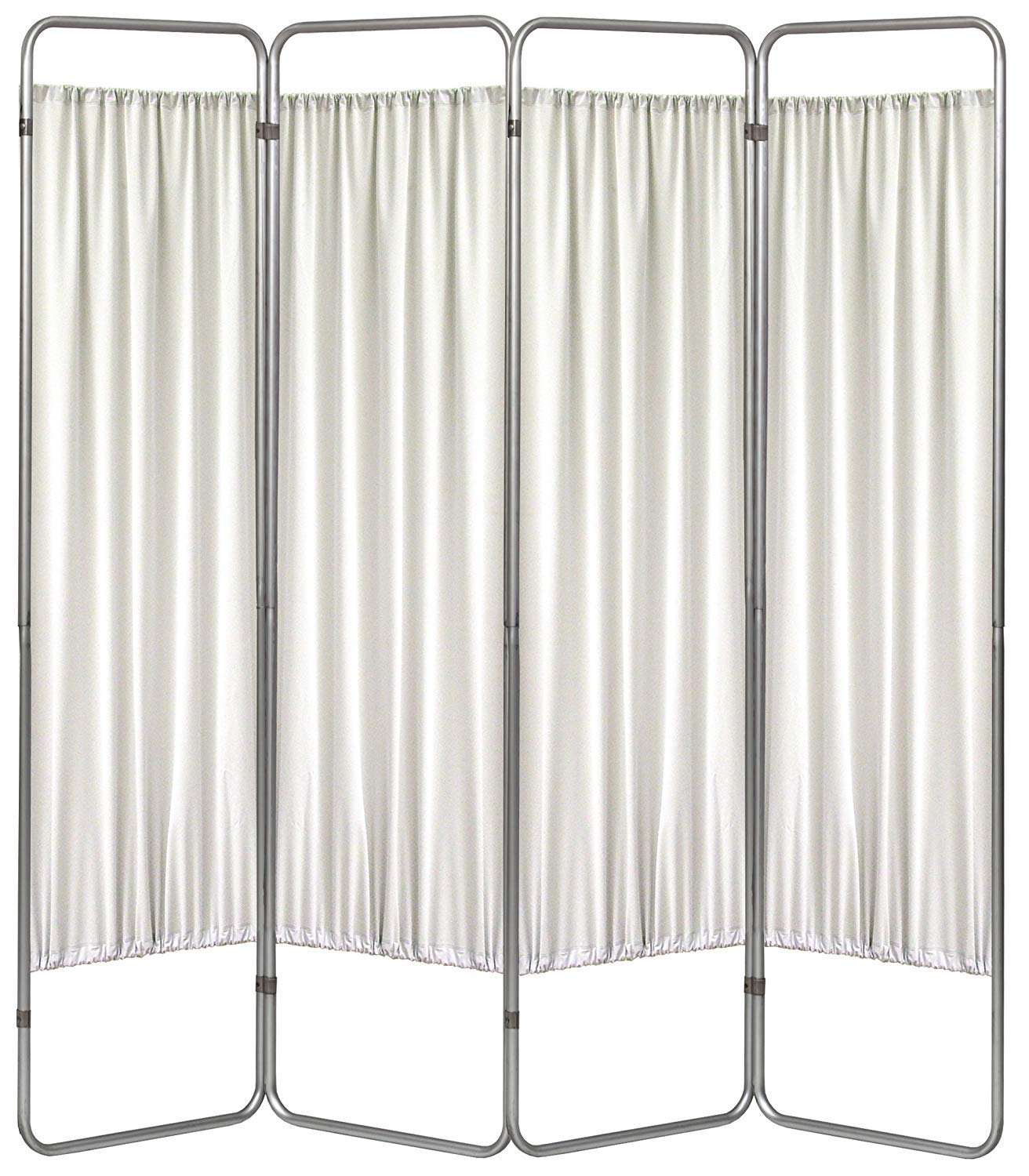 Omnimed 153094-FR 4 Panel Medical Privacy Screen with Frost Panels