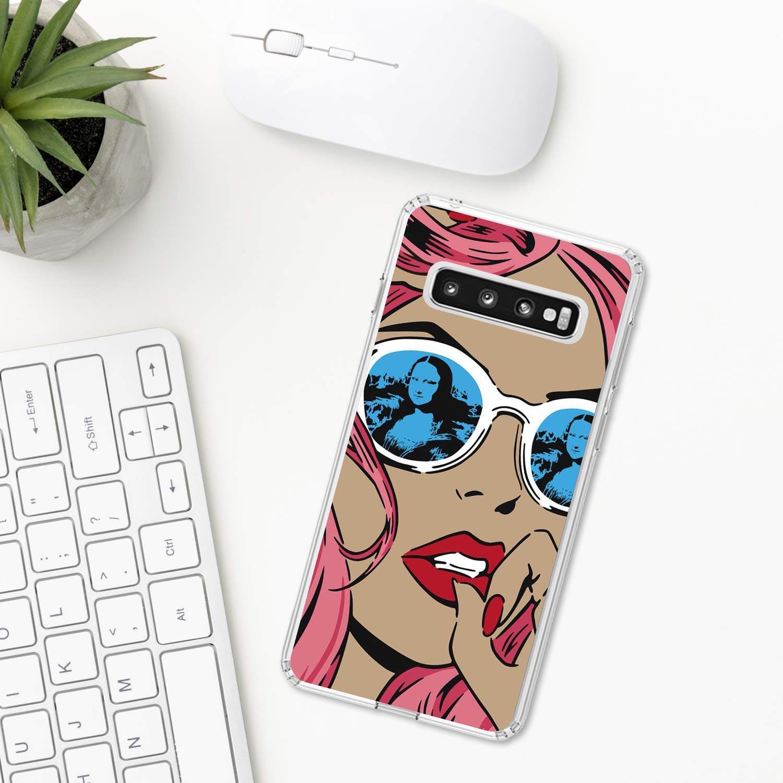 Pop Art /Étui Samsung Galaxy S10 Plus S10e S9 S8 S7 edge S6 S5 note 8 9 10 Pro 5 plastique Coque silicone Apple iPhone Cas de t/él/éphone Pop Art