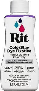 Rit Dye RIT COLORSTAY, 8 fl oz, Dye Fixative