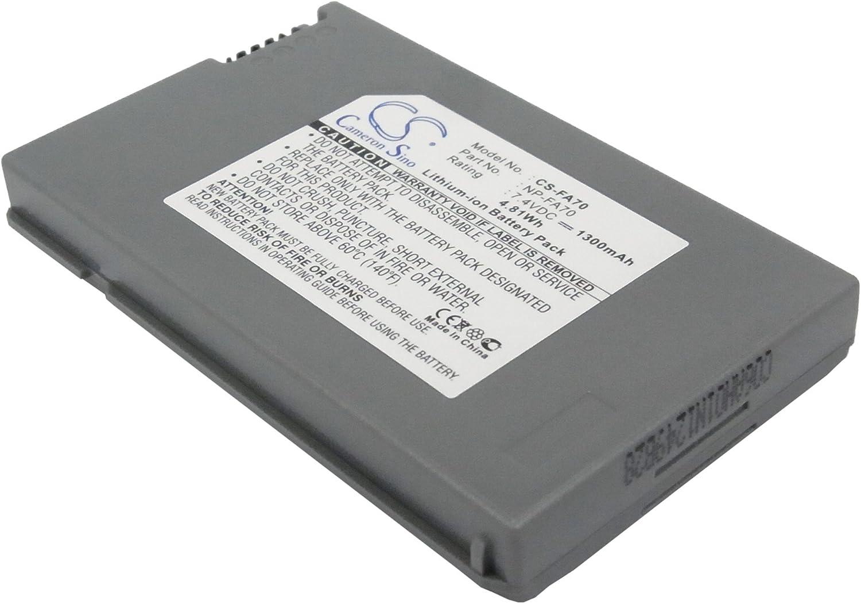 Replacement Battery for DCR-DVD7 DCR-DVD7E DCR-HC90 DCR-HC90E DCR-HC90ES DCR-PC1000 DCR-PC1000B DCR-PC1000E DCR-PC1000S