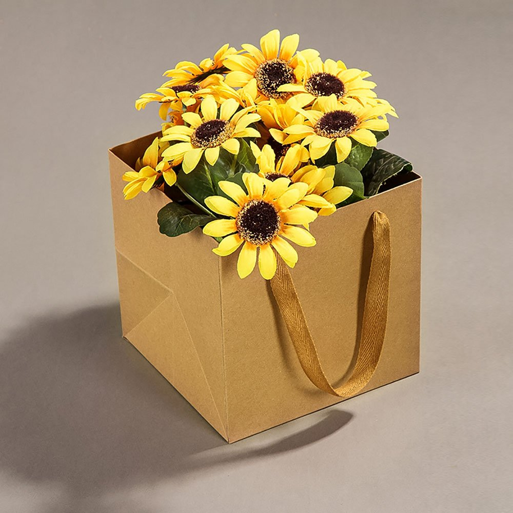 Amazon 98inch Square Brown Kraft Paper Bags Flowers Gift Bags