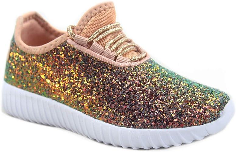Glitter Walking Sneaker Shoes