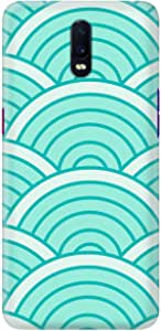 Stylizedd Oppo R17 Slim Snap Basic Case Cover Matte Finish - Green Arch