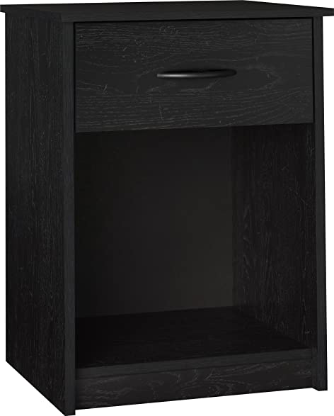 Amazon Ameriwood Home Core Night Stand Black Kitchen & Dining