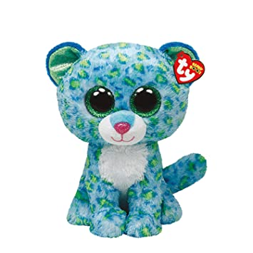 Ty Girls and Womens Beanie Boos Small Leona The Leopard Soft Toy ... cfa766881