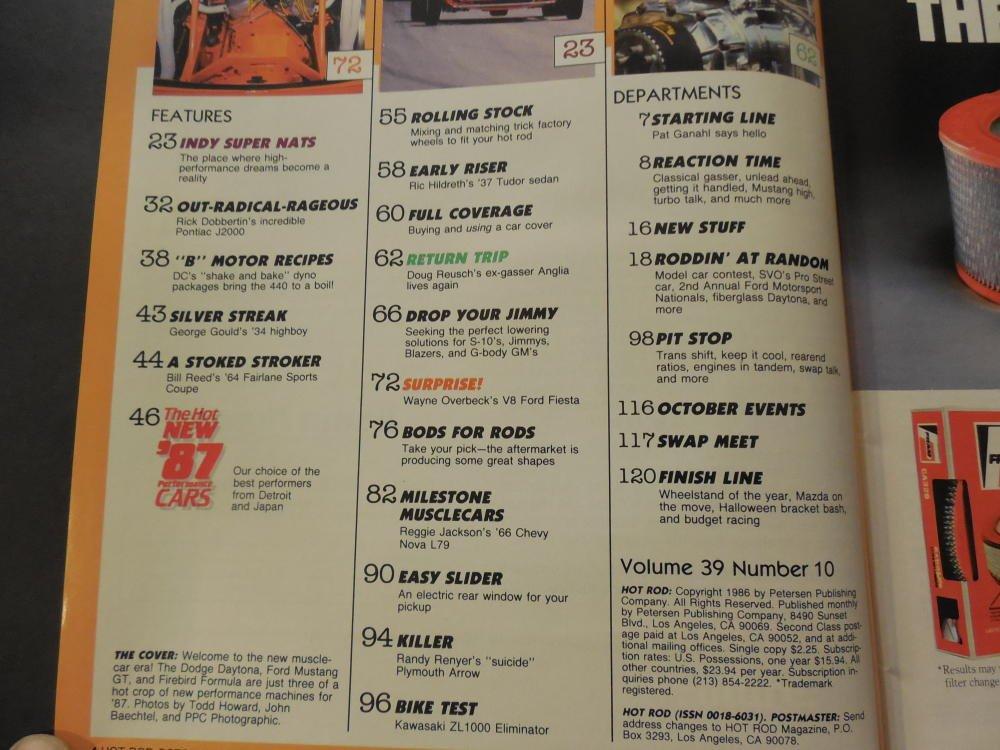 Hot Rod Oct 1986 440 MOPAR Build Ups: 300-600 HP at Amazon's