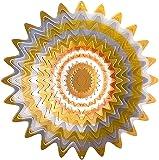 Iron Stop Windspinner Neu Designer Windspinner, Galaktischer Spritzer, silber/kupfer, 25 cm