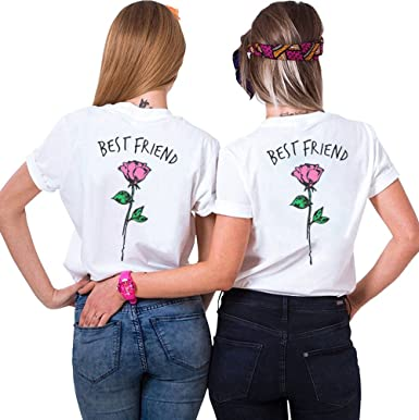 elegant shape official supplier temperament shoes Amazon.com: Shirts Best Friends Tshirt 2-Pack Matching ...