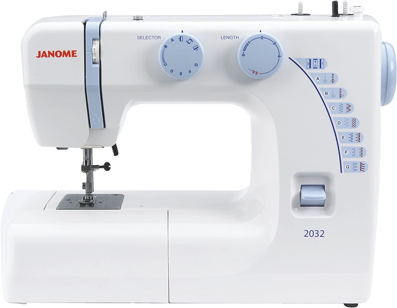 Janome 2032 - Máquina de coser: Amazon.es: Hogar