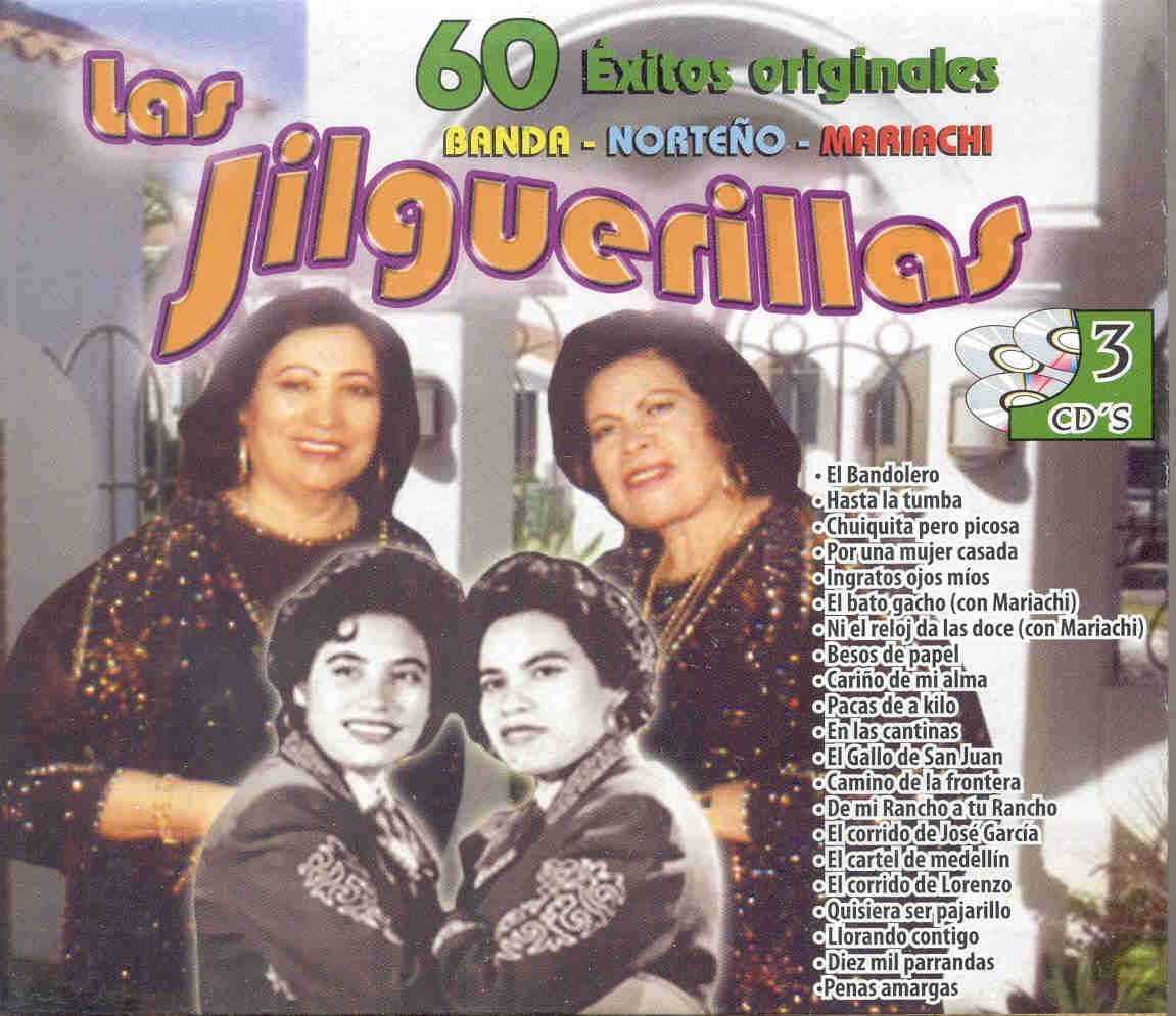 Las Jilguerillas - Las Jilguerillas (3CDs 60 Exitos Originales 033569) - Amazon.com Music