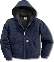 Carhartt Men's Quilted Flannel Lined Duck Active Jacket