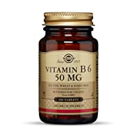 Solgar - Vitamin B6 50 mg, 100 Tablets