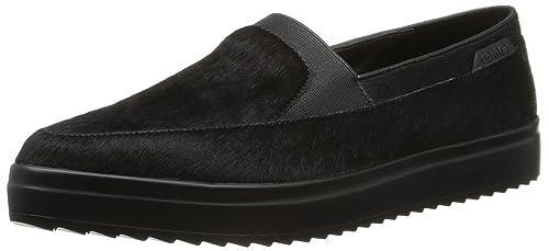 Calvin Klein Azriel Pony, Mocasines para Mujer, Negro, 38 EU: Amazon.es: Zapatos y complementos