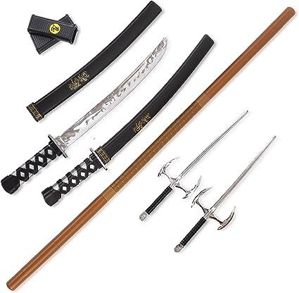 Amazon.com: Juego de armas Ninja Warrior con lazo 2 ...