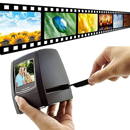 8 opinioni per DIGITNOW! 5MP/10MP 2.4''LCD Film Scanner , 35mm Diapositive / Negativi Scanner