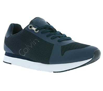Mens Jacques Mesh/Hf Trainers Calvin Klein