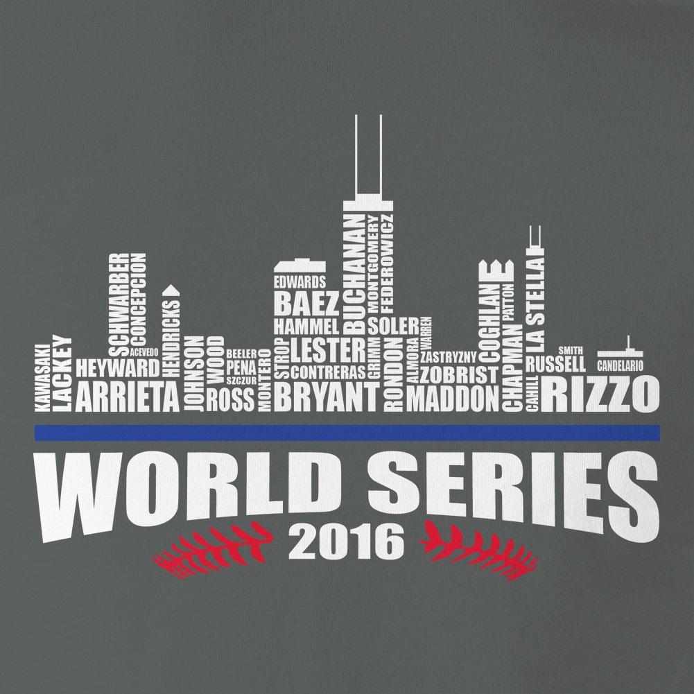 Chicago Baseball 2016 World Champions City Landscape Mens Tank Top