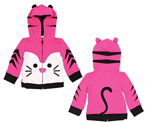 1-5 Years Mini Jiji Baby Toddlers Stretch Cotton Hoodie Zip up Jacket