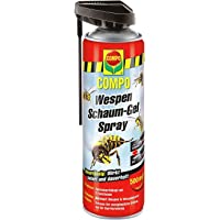Compo Wespen Schaum-Gel-Spray inkl. Sprührohr, Sofort- und Langzeitwirkung
