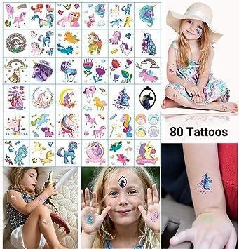 Dream Loom Fiesta de cumpleaños de Tatuajes temporales para niños ...