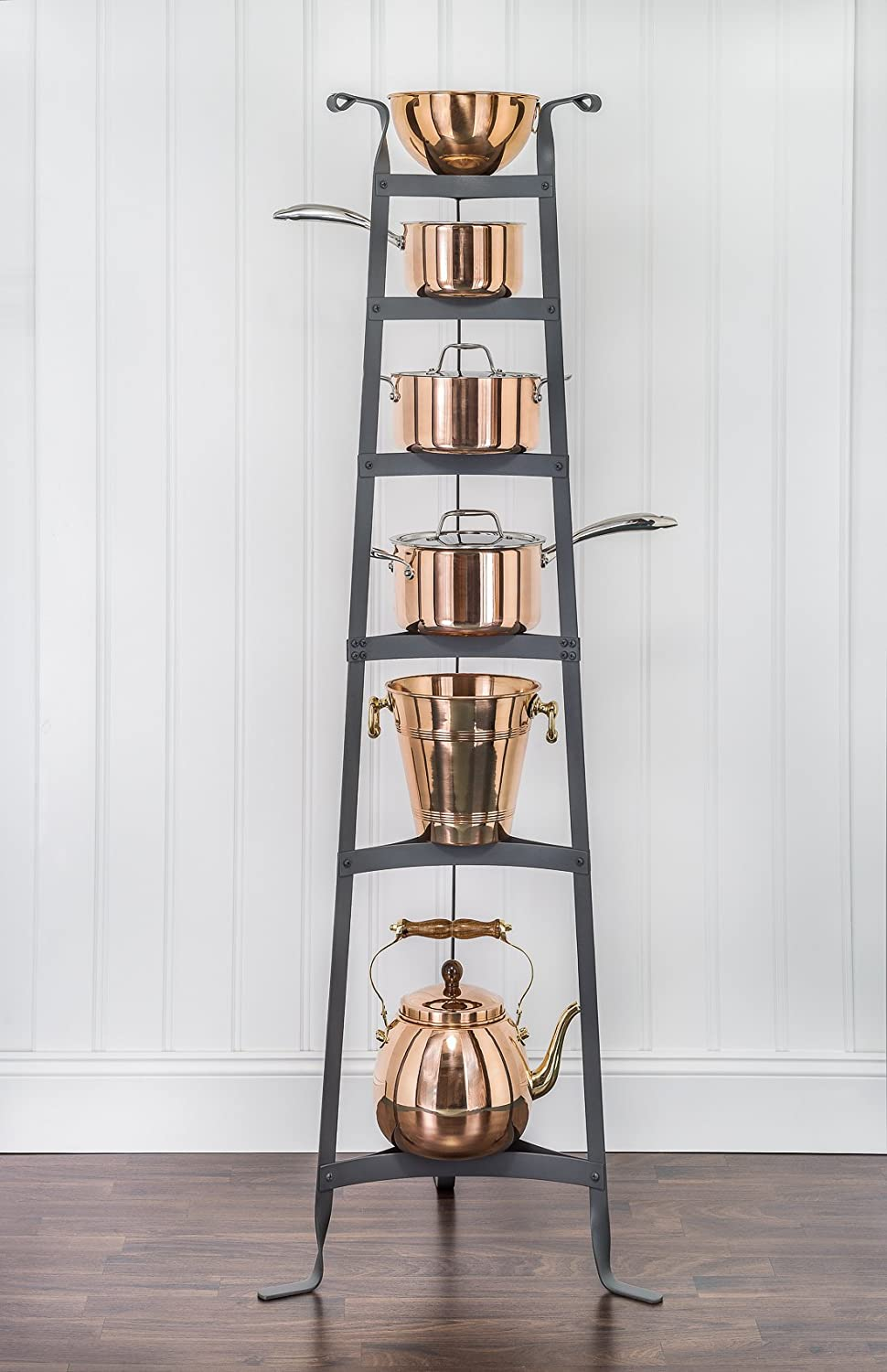 Amazon.com: Old Dutch 60 Inch Cookware Stand, Copper: Cookware Accessories:  Kitchen U0026 Dining