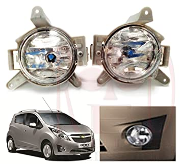 Redclub Fog Light Clear Colour For Chevrolet Beat With A Fuel